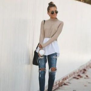 Office style pullover